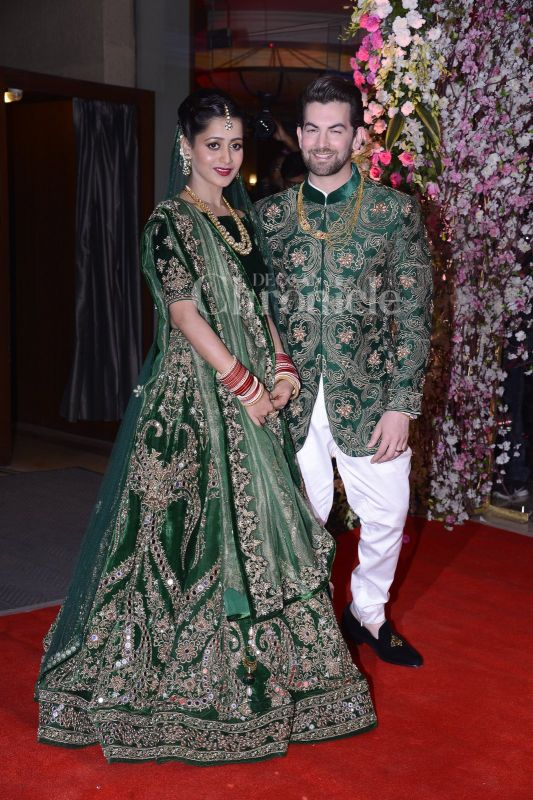 Neil Nitin Mukesh-Rukmini\'s wedding reception, a star-studded affair