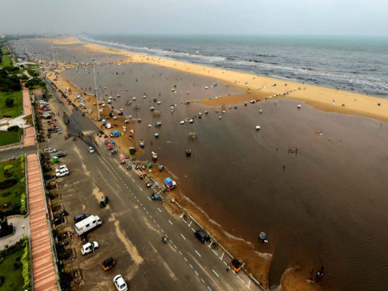 Marina beach. (Photo: PTI)