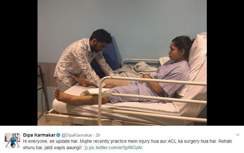 Dipa Karmakar injury
