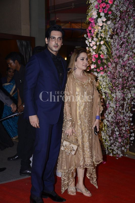 Neil Nitin Mukesh Rukminis Wedding Reception A Star Studded Affair