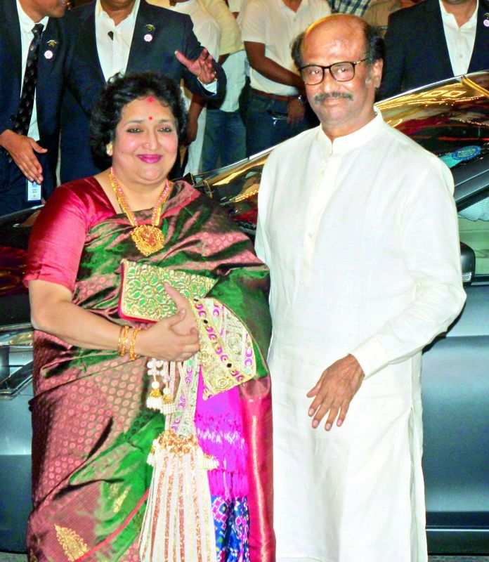 Latha Rajnikanth and Rajnikanth