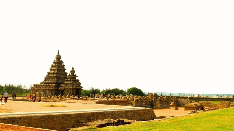 Shore Temple of Mahabalipuram. Photo credits: Amit Sengupta