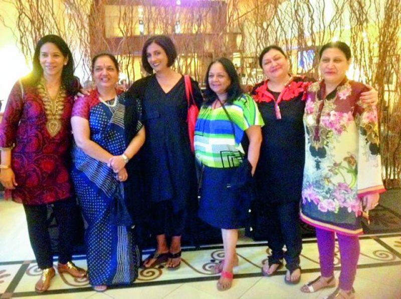 Vani, Hemlata, Neera, Aneel, Pinky and Neeta.