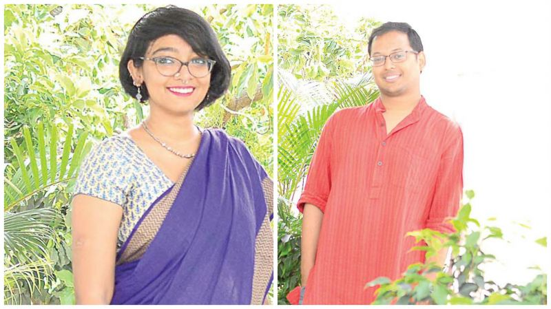 Shruthi Chandrashekaran and Swaraj Paul Barooah