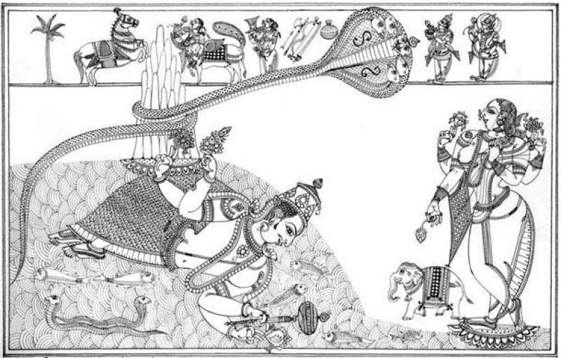 A sample of his Vijay's work.