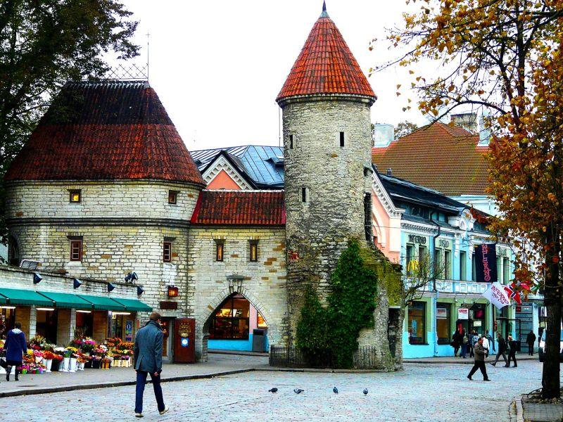 Glimpse of the old, medieval Tallinn, Estonia. (Photo: Jayesh Ganesh)