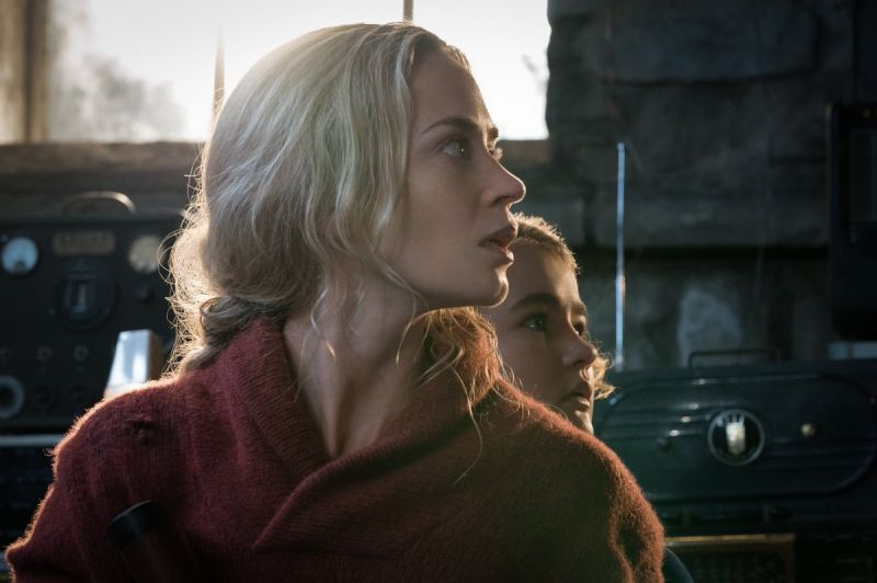 Emily Blunt in the still from the film.