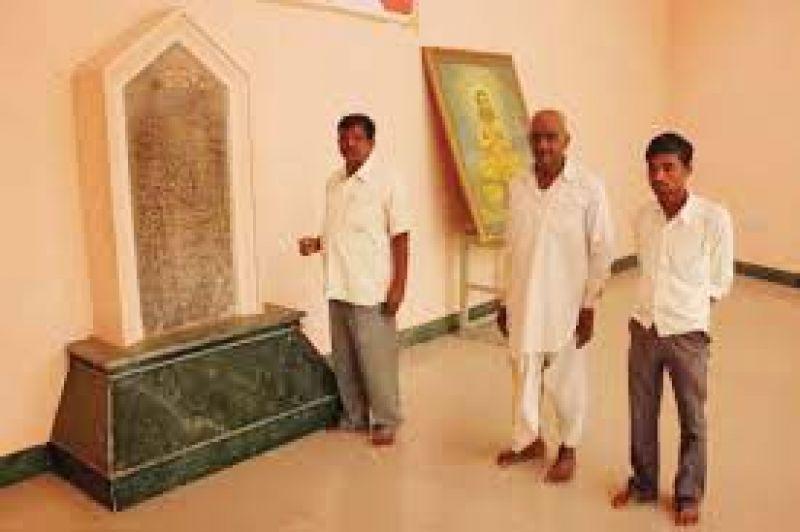 Visitors at Vijnaneshwara Bhavan