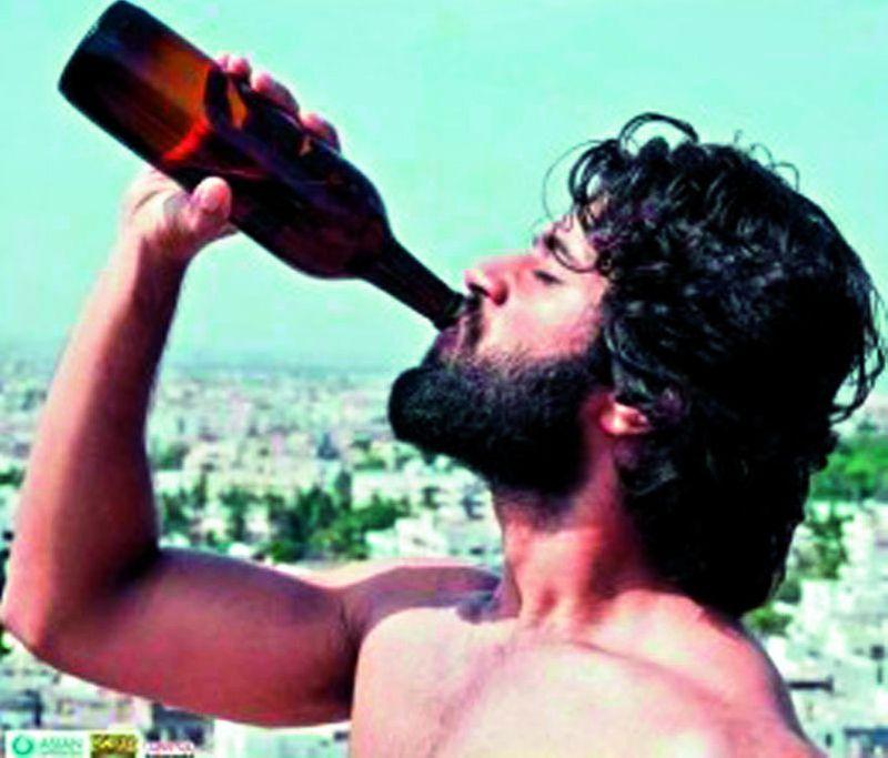 Vijay Drinking