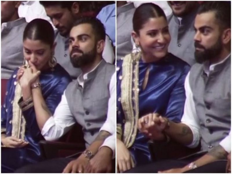 Anushka Sharma and Virat Kohli. (Photo: ANI)