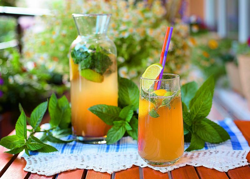 Chamomile Vodka Cooler