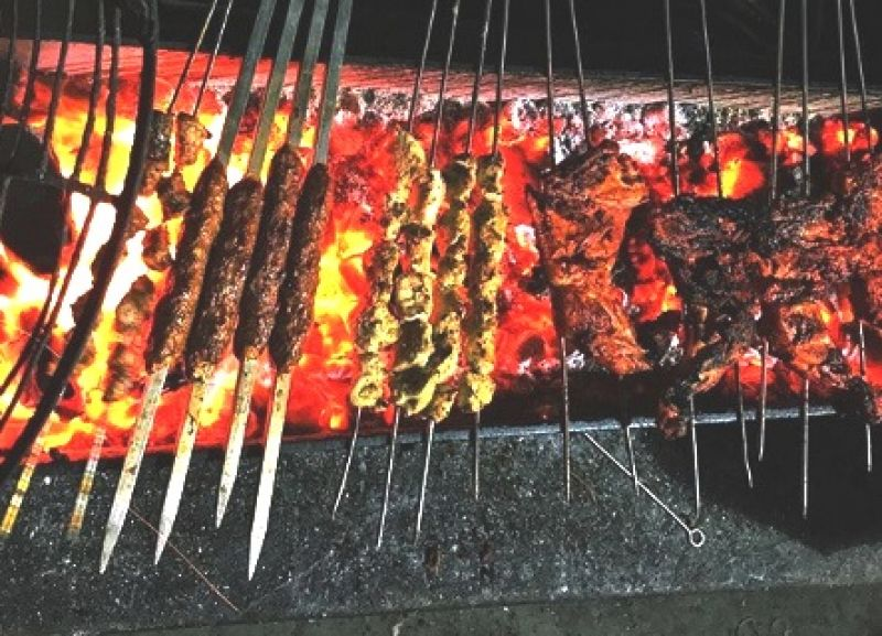 Haji Tikka is known for drawing visitors with aromatic kebabs (Photo: Instagram)