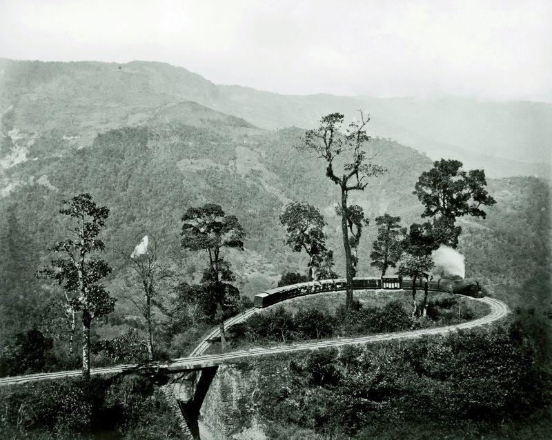 Darjeeling, the loop on the Darjeeling Himalayan Railway  image courtesy: MAP/Tasveer.
