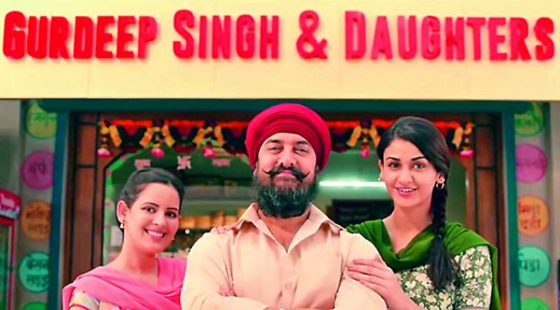 Aamir Khan recently featured in an ad heaping praises on his two daughters who help him run his business