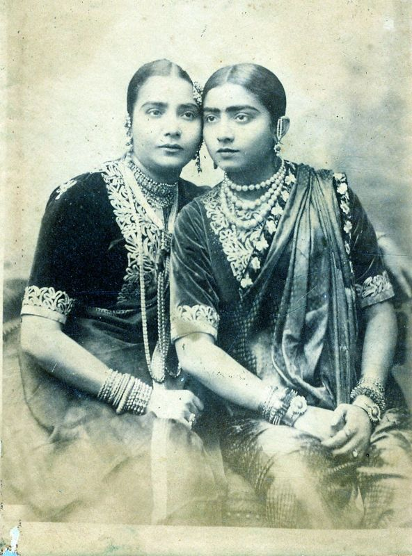 One of the photographs on display