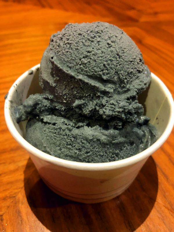 Black Vanilla Icecream
