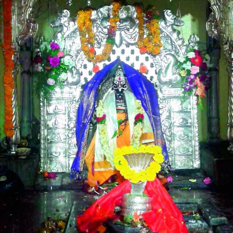 The idol of the Veerabhadra Swamy
