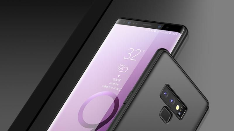 Samsung Galaxy Note 9 revealed in all its glory