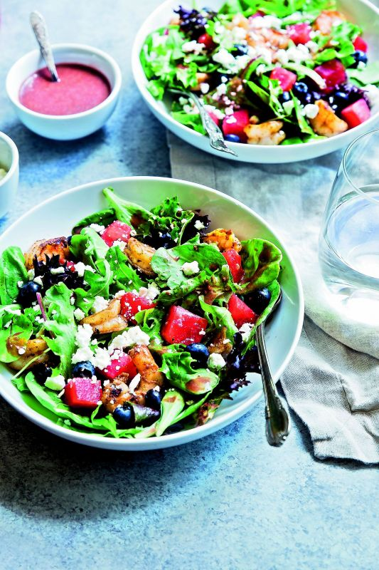 Jamun Salad with Java Plum Dressing