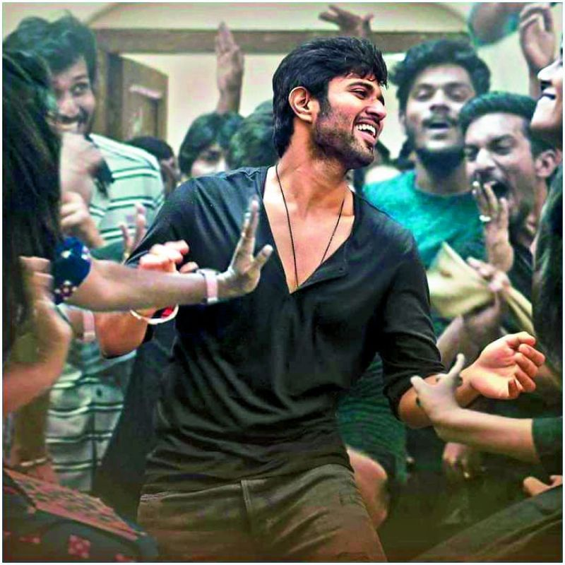 Vijay Deverakonda in the Telugu film Dear Comrade. Bollywood director and producer Karan Johar bought the Hindi remake rights.