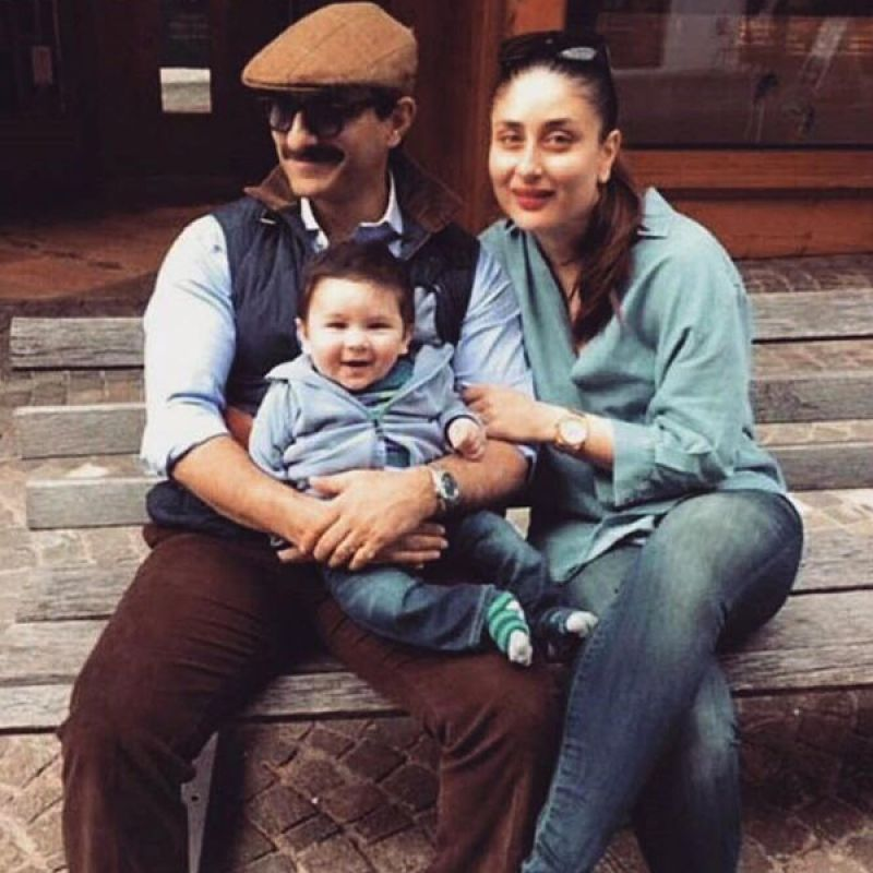 Adorable! Taimur is having the time of his life with parents Saif-Kareena in Gstaad