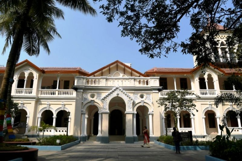The new National Museum of Indian Cinema is housed in an old colonial building with a modern adjacent wing. (Photo: AFP)