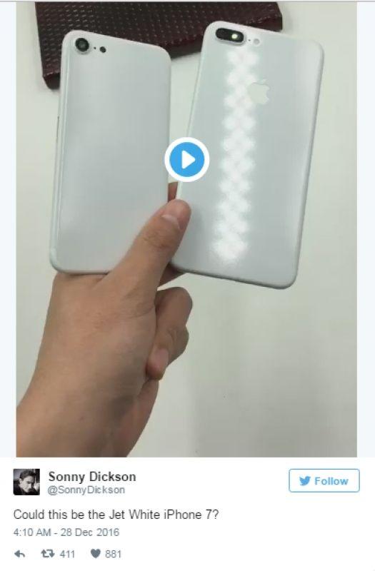 Jet White iPhone
