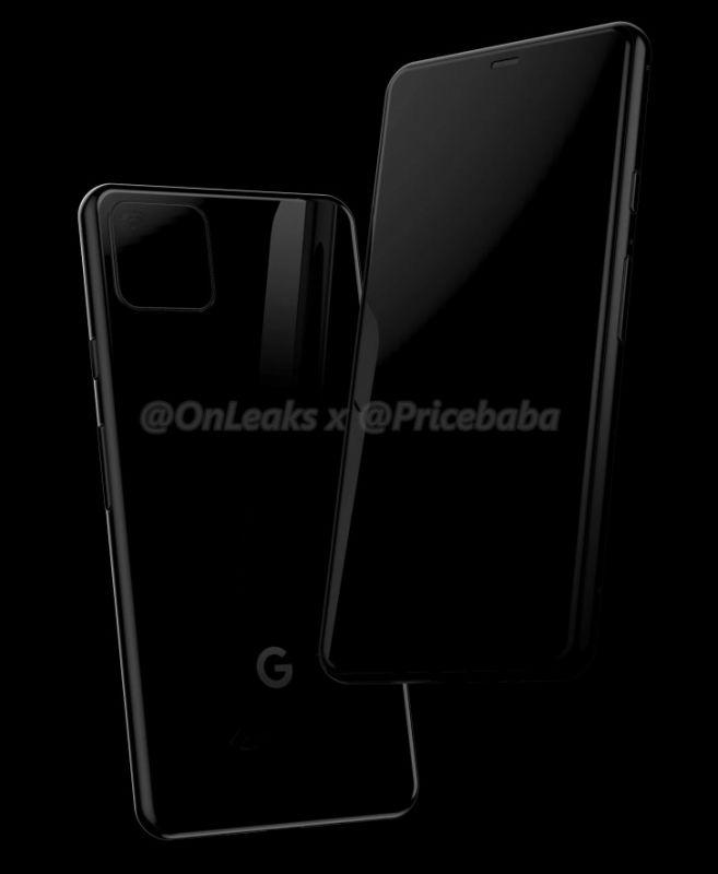 Google Pixel 4 leaked renders