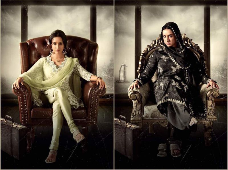 Shraddha Kapoor's transformation for both looks of Haseena is too brilliant