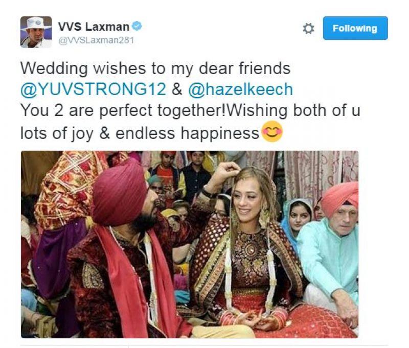 Yuvraj hazel wedding