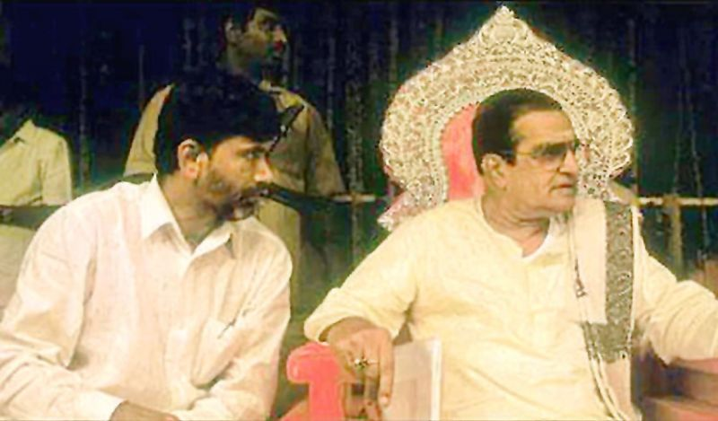 Chandrababu Naidu till date is accused of betraying his father-in-law N.T. Rama Rao (NTR).