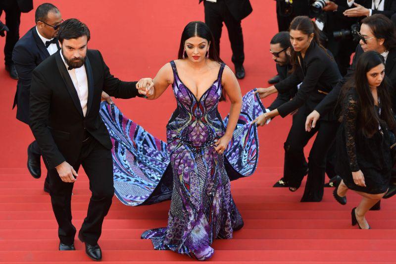 Aishwarya Rai Bachchan at Cannes (Photo: AFP)