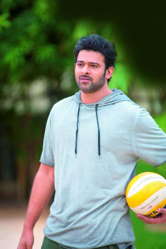 Prabhas loves to play  volleyball. He has also constructed a sand volleyball court at home