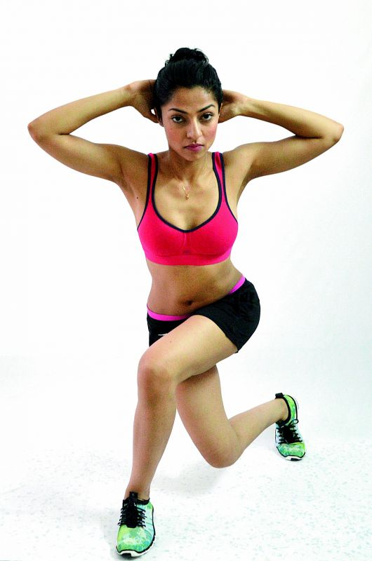 Cross Lunges