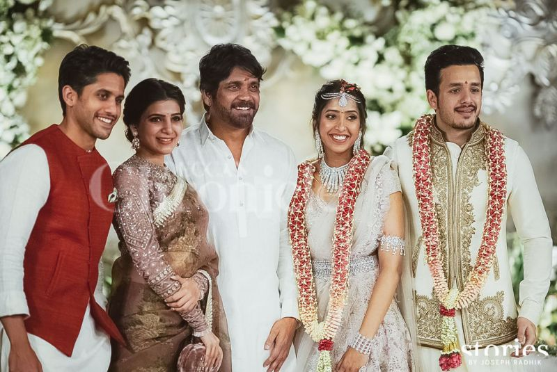 The engagement, reportedly, was a very close affair, as only family and close friends from the southern fraternity were invited. Akhil's elder sibling and popular Tollywood actor Naga Chaitanya's wedding to actress Samantha Ruth Prabhu has been delayed, for the longest time.