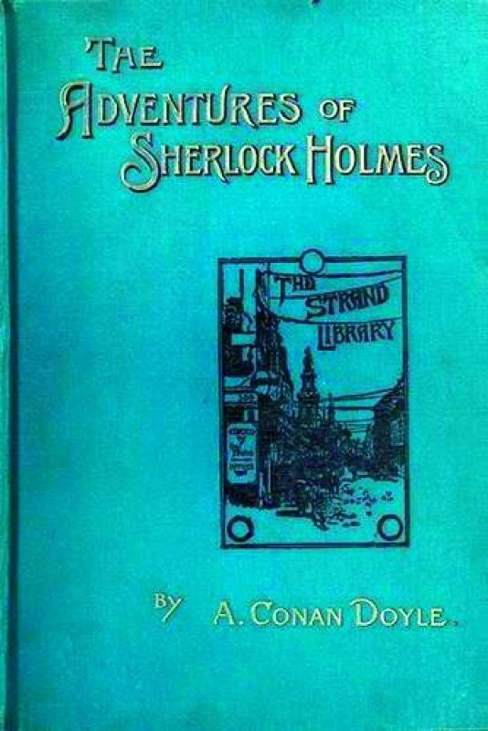 Signed presentation copy of The Adventures of Sherlock Holmes