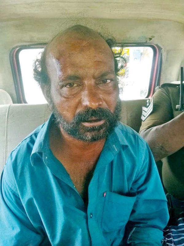 The driver, R.Govindaswamy