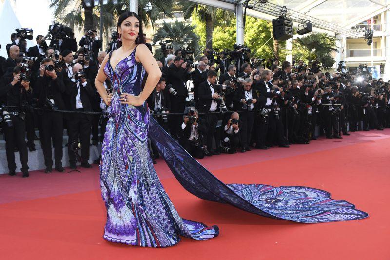 Aishwarya Rai Bachchan at Cannes. (Photo: AP)