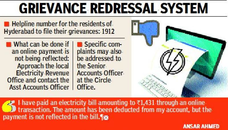 Power billing errors in Hyderabad