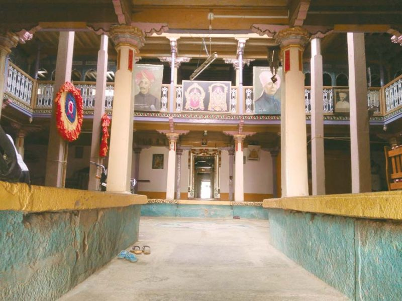 The famous Nadgir Wada where the music concert is held