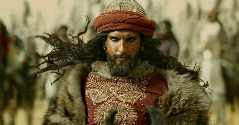 Ranveer Singh as Sultan Alauddin Khilji in the still from 'Padmaavat'.