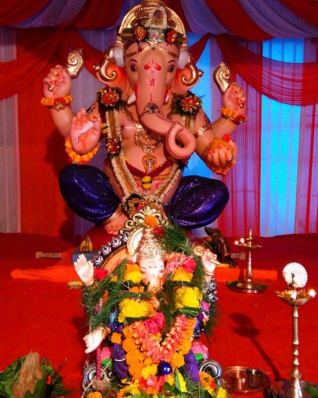 Wadala, Ganesh mandir Marg idol. (Photo: Soumyabrata Gupta)