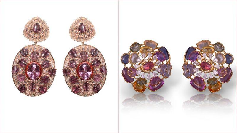 Earrings by Jaipur Gems