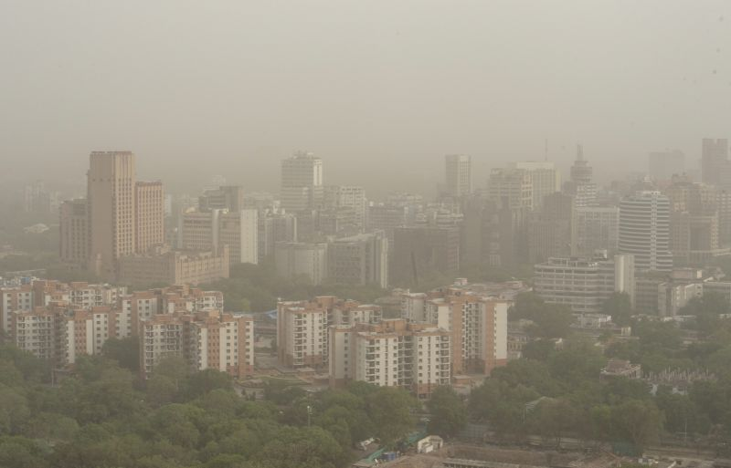 Cloud Of Dust Hangs Over Delhi For Fourth Day, Air Quality Worsens