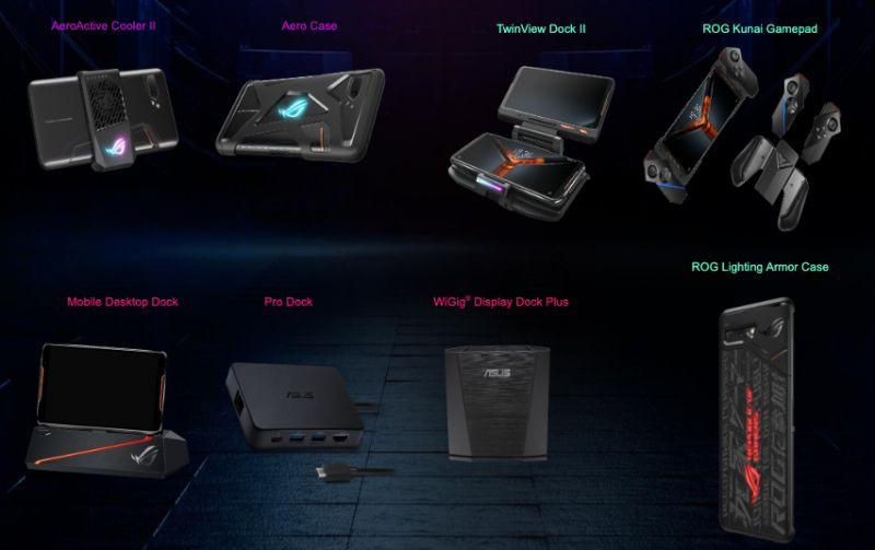 Asus ROG Phone II accessories
