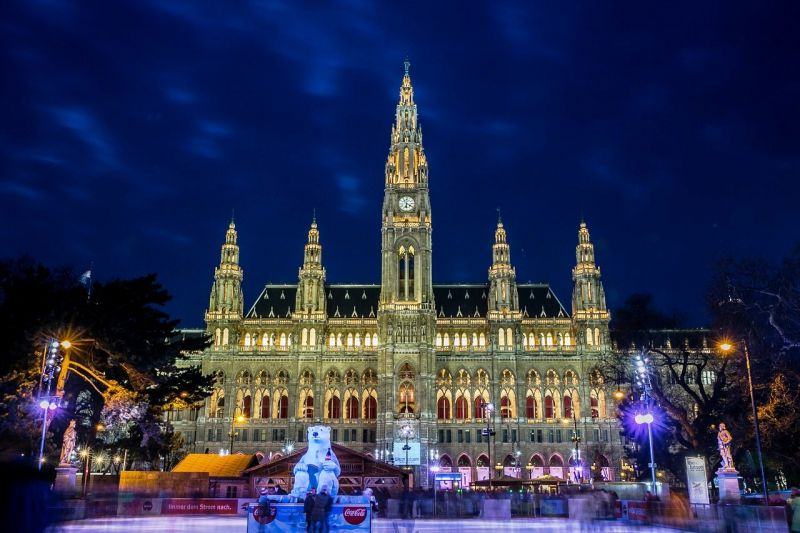 The Vienna City Hall, seat of the local government of Vienna, located on Rathausplatz in the Innere Stadt district. (Photo: Pixabay)