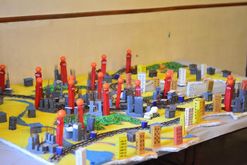 A 3D model made by children of MMC