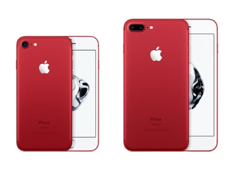 In Another Effort To Raise Funds For The Program Apple Is Releasing IPhone 7 And Plus PRODUCT RED Special Edition 128GB 256 GB Models At