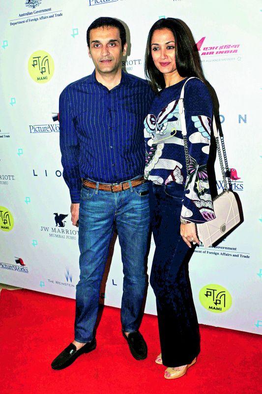 Gayatri Joshi with Vikas Oberoi