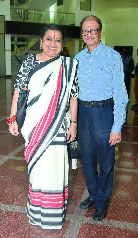 Vineeta and Navneet Pittie